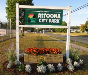 City of Altoona Flower Bed